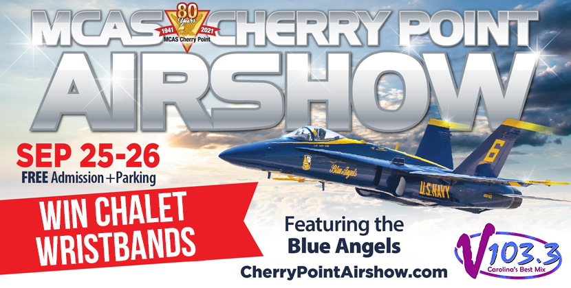 Win Chalet Wristbands To The Cherry Point Air Show & Swag