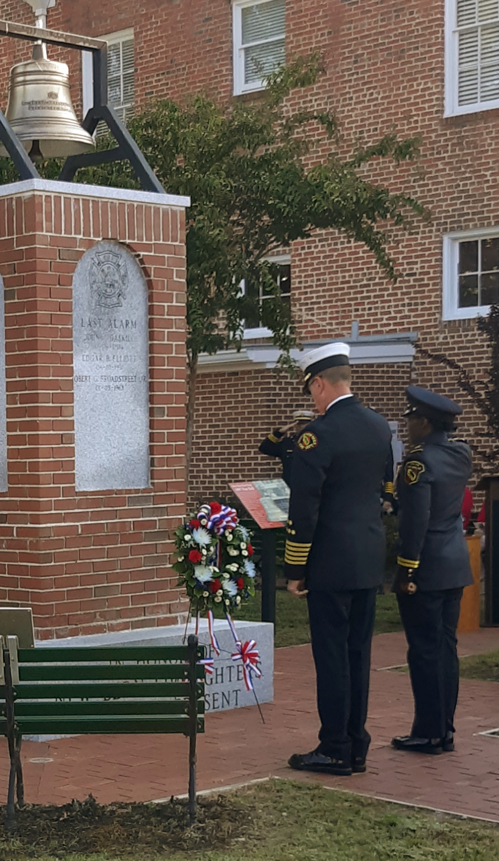 20th Anniversary 9/11 Memorial Ceremony