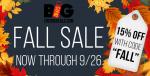 ENC Big Deals Fall Sale