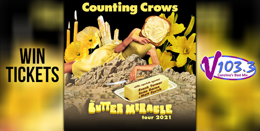 Win Tickets To Counting Crows 9/29!