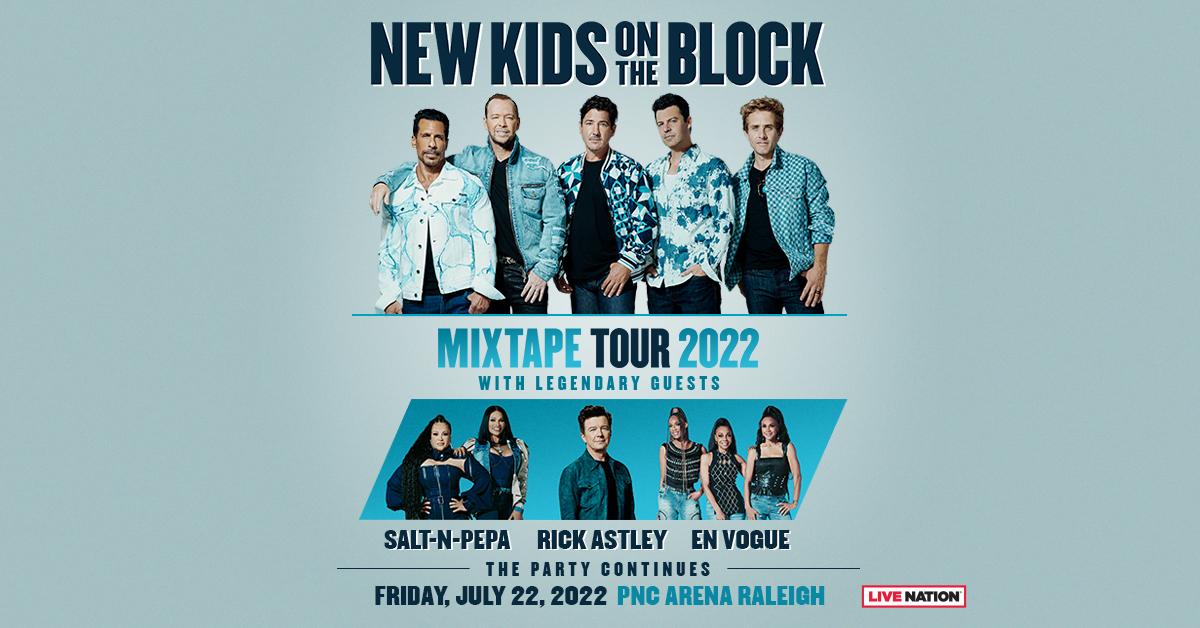 "New Kids On The Block ""Mixtape Tour 2022"""