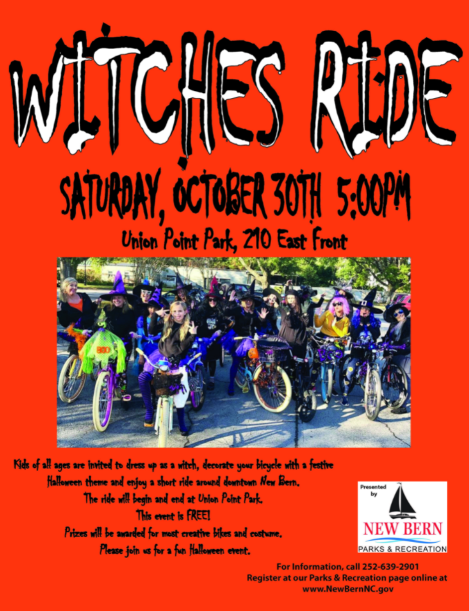 Witches Ride: Union Point Park in New Bern