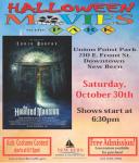 Halloween Movie @ Union Point Park in New Bern & Kids Costume Contest