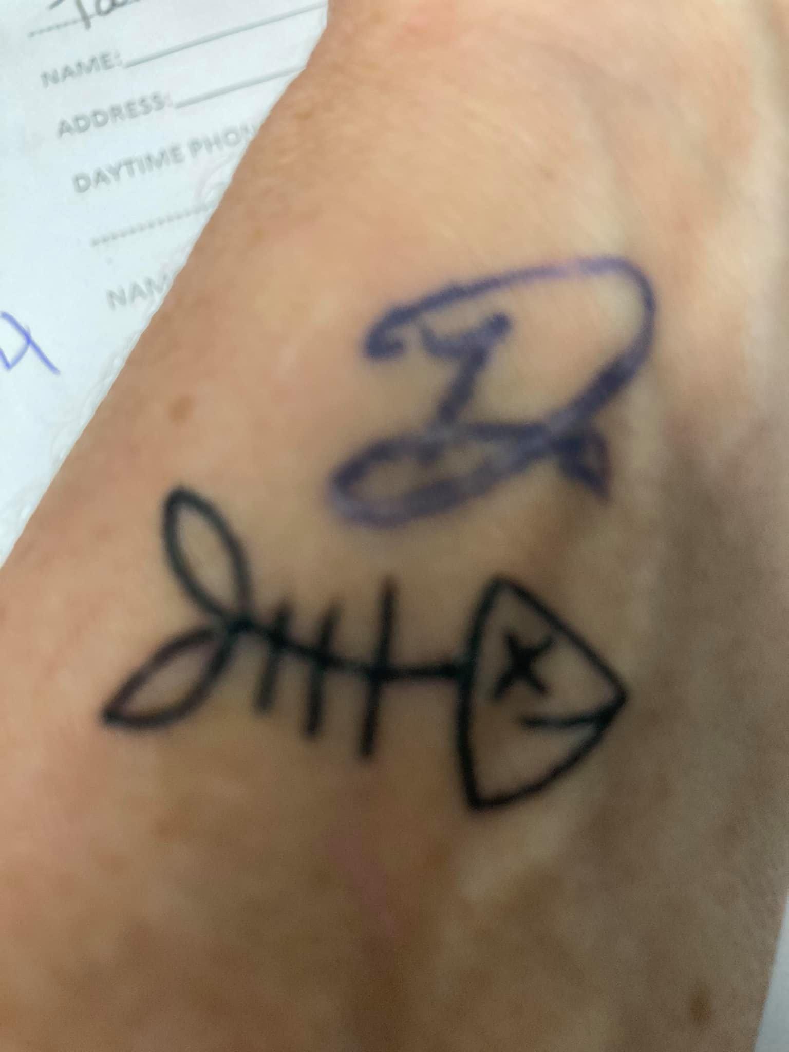 I Got My Tattoo @ Skin Elixer's Breast Cancer Awareness Event!