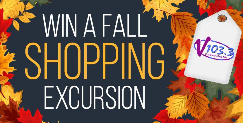 Win A Fabulous Fall Shopping Excursion!