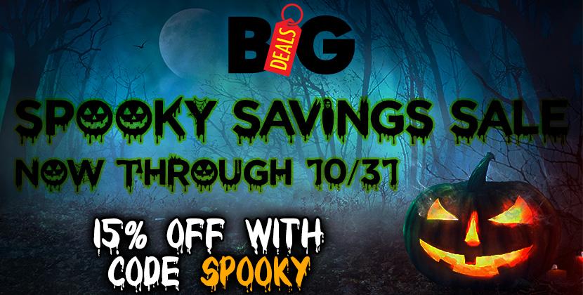 ENC Big Deals Spooky Savings Sale!