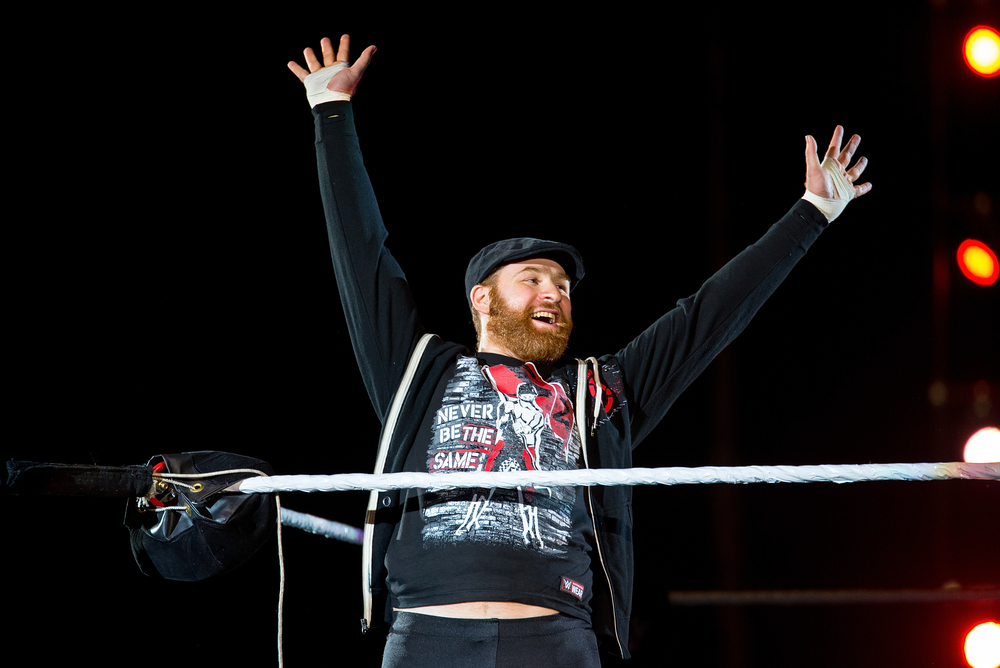 The WWE's Sami Zayn Calls in to Man Made Radio w/Rhyan to Preview WWE Live at ECU's Williams Arena on Sunday 1/21