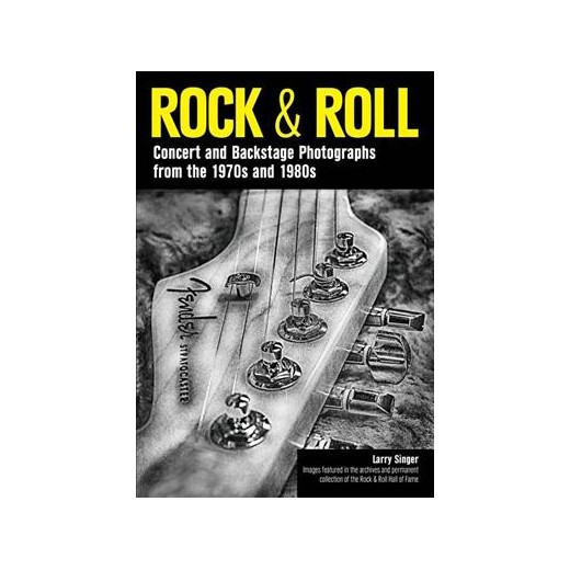 """Larry Singer, Author of """"ROCK & ROLL-Concert and Backstage Photographs from the 1970s and 1980s,"""" Calls in to Man Made Radio w/Rhyan"""