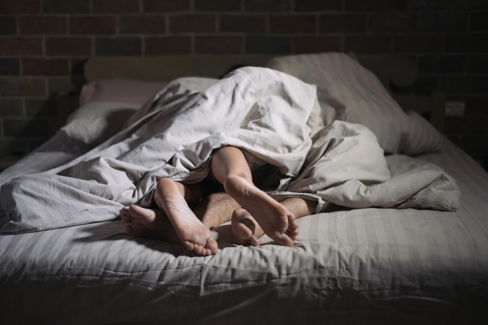 The Key to Getting Better Sleep Is . . . Having Sex
