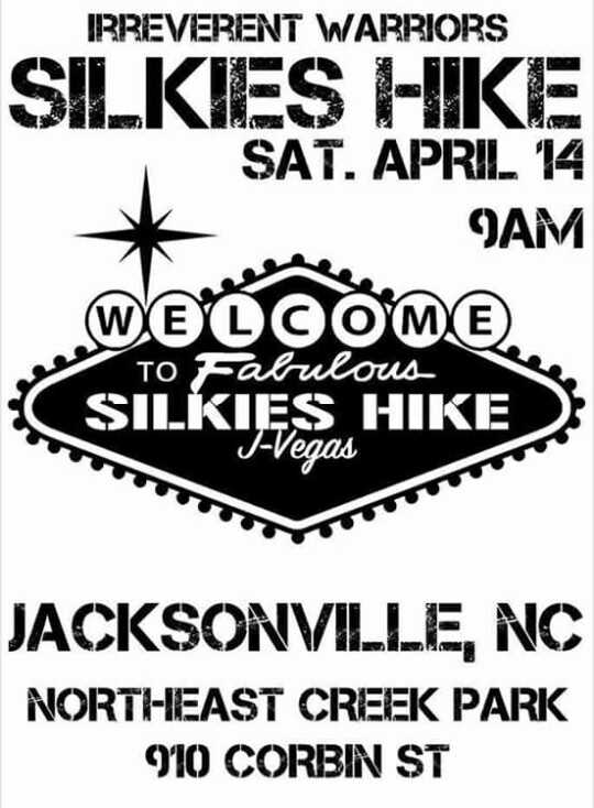 The Irreverent Warriors Silkies Hike is Coming to Jacksonville