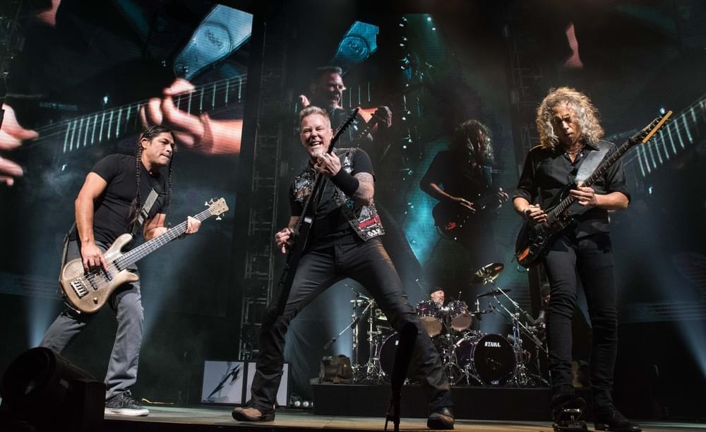 """Metallica's Kirk Hammett and Robert Trujillo """"Doodle"""""""