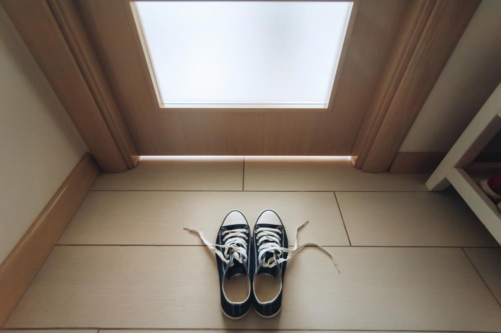 Taking Your Shoes Off at Your Front Door Could Help You Lose Weight?