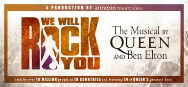 We Will Rock You, The Musical By Queen @ Raleigh Memorial Auditorium