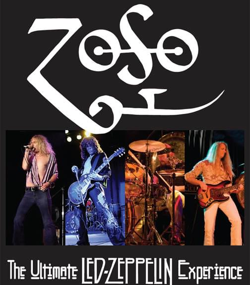 ZOSO – The Ultimate Led Zeppelin Experience @ The State Theatre, Greenville