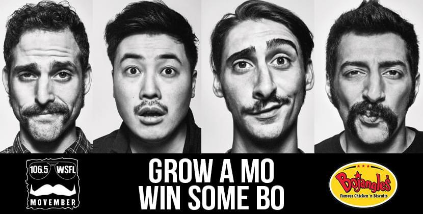 Grow A Mo, Win Some BO!