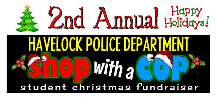 Havelock PD 2nd Annual Shop with a Cop