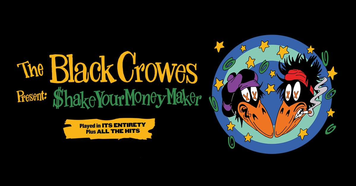 The Black Crowes Present: Shake Your Moneymaker@ Coastal Credit Union Music Park, Raleigh