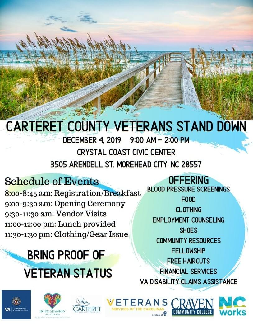 Carteret County Veterans Stand-Down