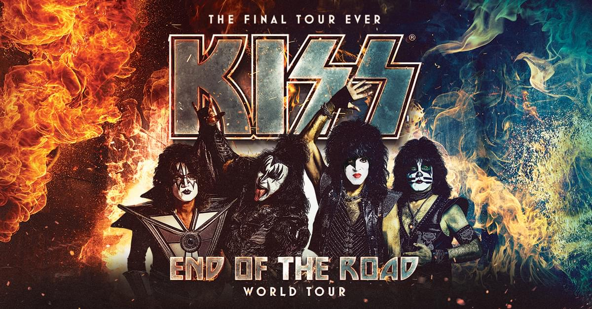 KISS End of the Road World Tour@ Coastal Credit Union Music Park, Raleigh