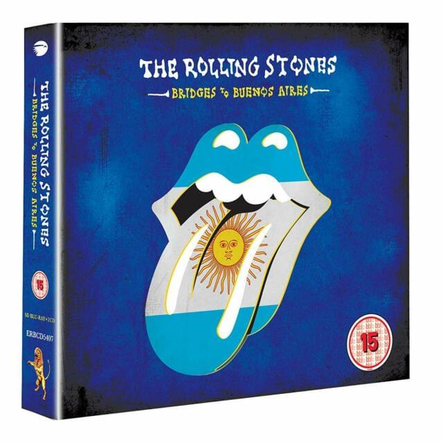 "Win The Rolling Stones ""Bridges to Buenos Aires"" on CD and DVD"
