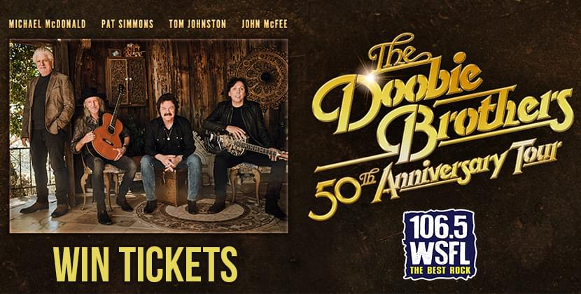See The Doobie Brothers 50th Anniversary Tour in Raleigh