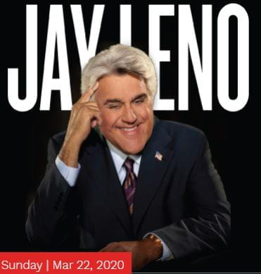 Jay Leno @ The Steven Tanger Center For The Performing Arts, Greensboro