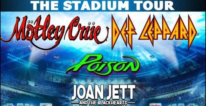 Mötley Crüe, Def Leppard, Poison, & Joan Jett and the Blackhearts @ BOA Stadium, Charlotte RESCHEDULED