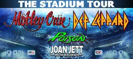 Def Leppard, Motley Crue, Poison & Joan Jett – The Stadium Tour