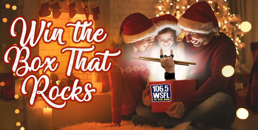 Win the Christmas Box That Rocks from WSFL!