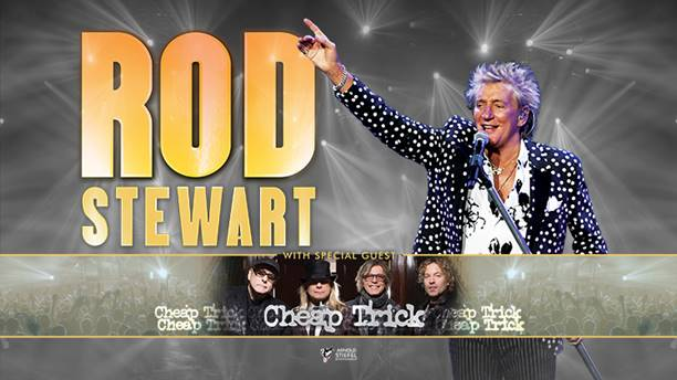 Rod Stewart with special guest Cheap Trick @ Coastal Credit Union Music Park, Raleigh *CANCELLED*