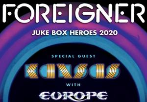 Foreigner, Kansas, & Europe @ Coastal Credit Union Music Park, Raleigh – *CANCELLED*