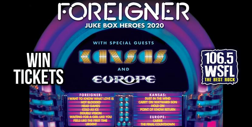Score Tickets For Foreigner in Raleigh