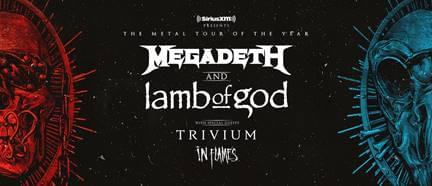 Megadeth and Lamb of God @ Red Hat Amphitheater, Raleigh