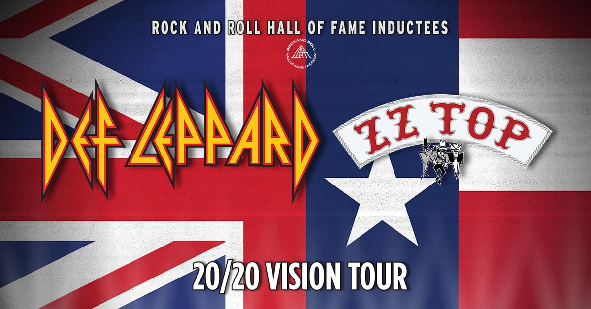 Def Leppard & ZZ Top '20/20 Vision' Tour @  Veteran United Home Loans Amphitheater at Virginia Beach