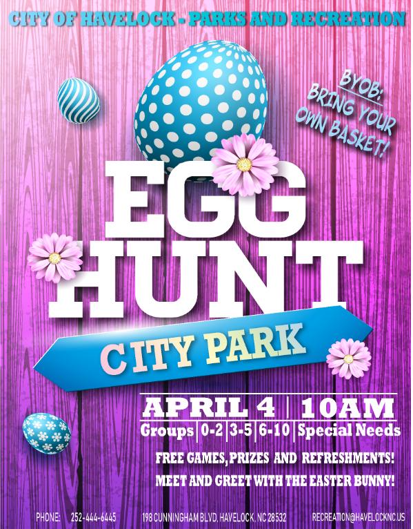 Egg Hunt @ City of Havelock City Park
