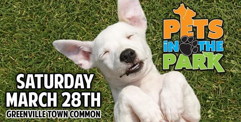 Pets in the Park @ Greenville Town Common