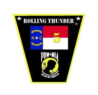 Rolling Thunder NC-5 Ron Relay Memorial Ride