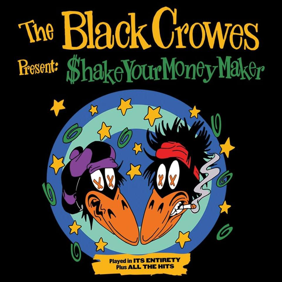 ***RESCHEDULED***The Black Crowes @ Coastal Credit Union Music Park, Raleigh
