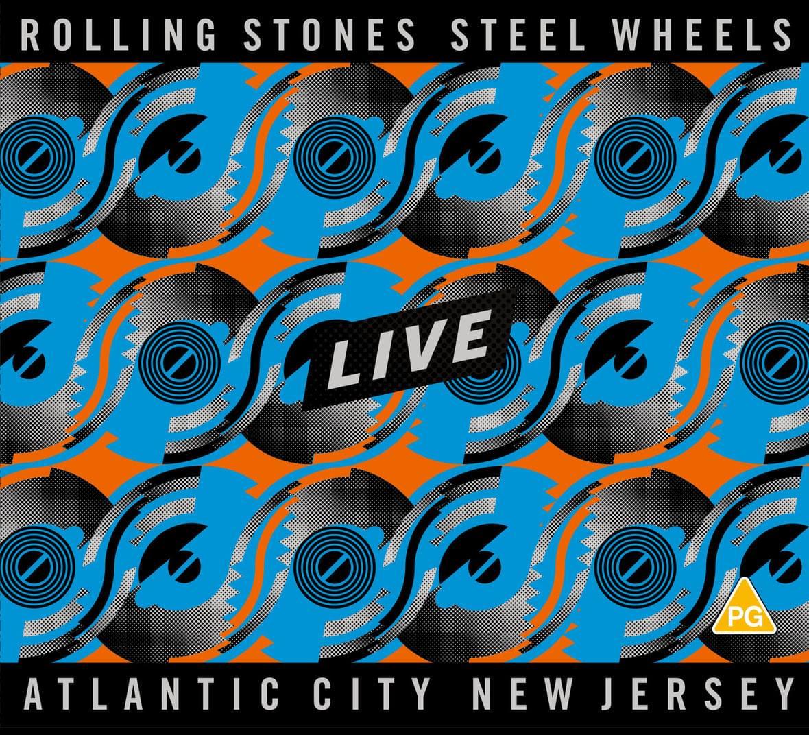 "Win The Rolling Stones ""Steel Wheels Live – Atlantic City, New Jersey"" on CD/DVD"