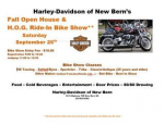 Harley-Davidson of New Bern Fall Open House and Ride-In Bike Show