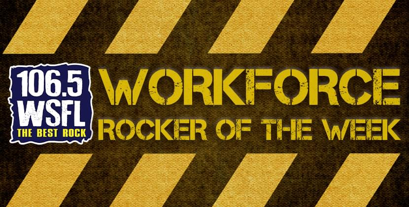 Be the WSFL Workforce Rocker of the Week!
