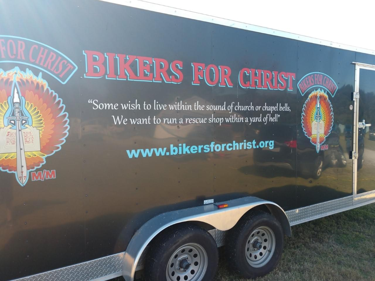 WSFL Stops By the Coastal Plains Bikers For Christ 3rd Annual Car and Bike Show at Ironclad Marketplace, Kinston