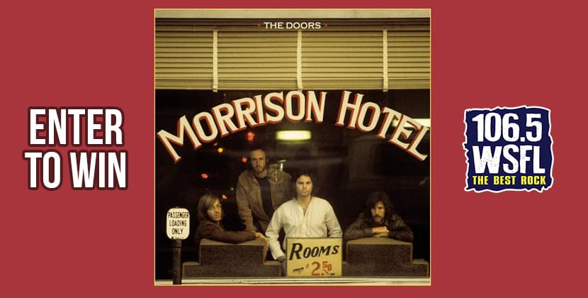 """Win The Doors """"Morrison Hotel"""" 50th Anniversary Deluxe Edition"""