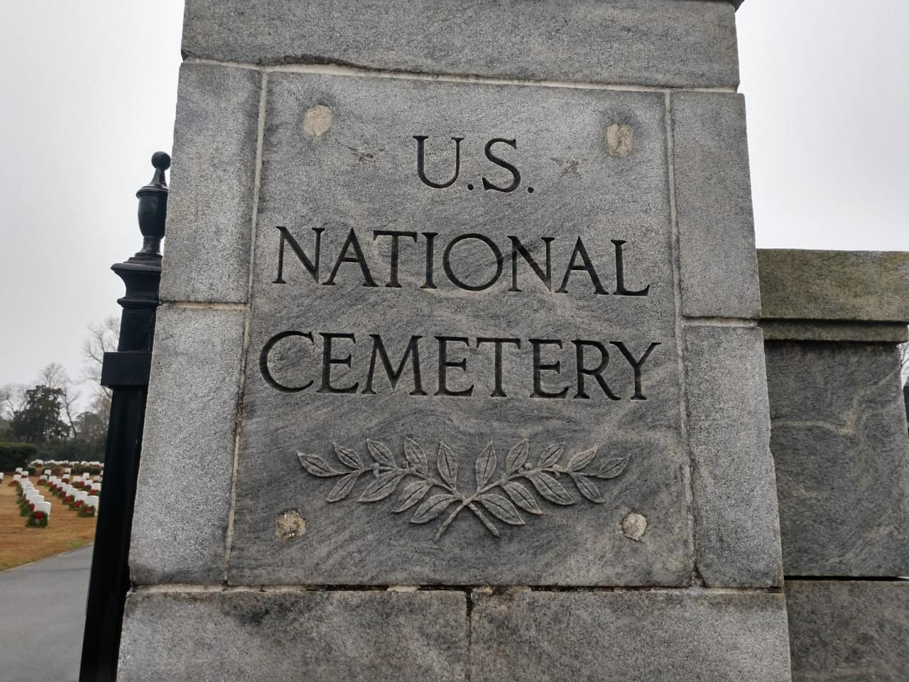 WSFL Visits the New Bern National Cemetary