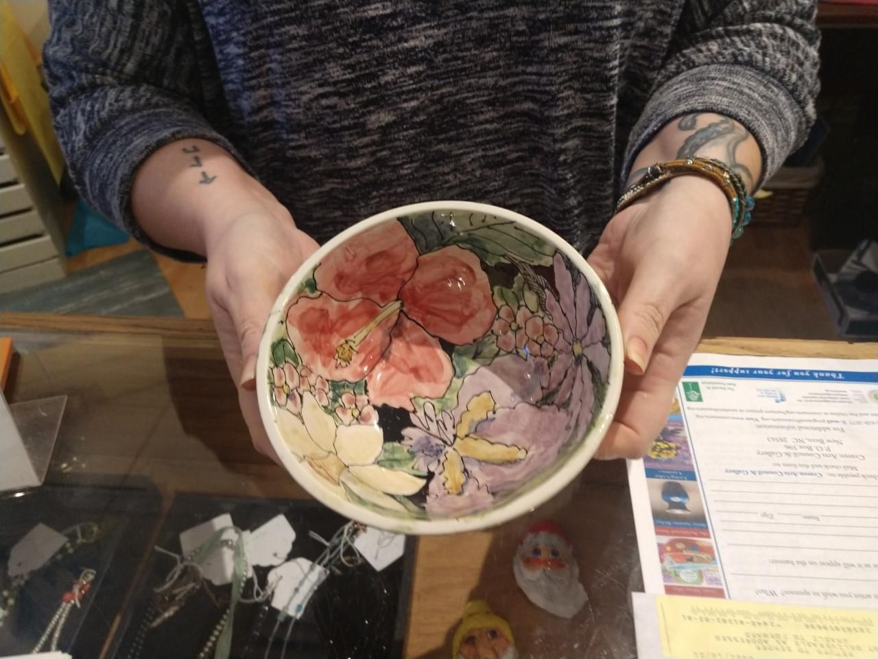 Empty Bowls 2021 Fundraiser at the Craven Arts Council & Gallery and Temple Church