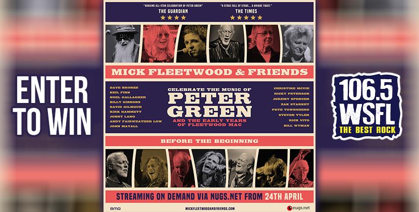 Win Mick Fleetwood & Friends Livestream Concert