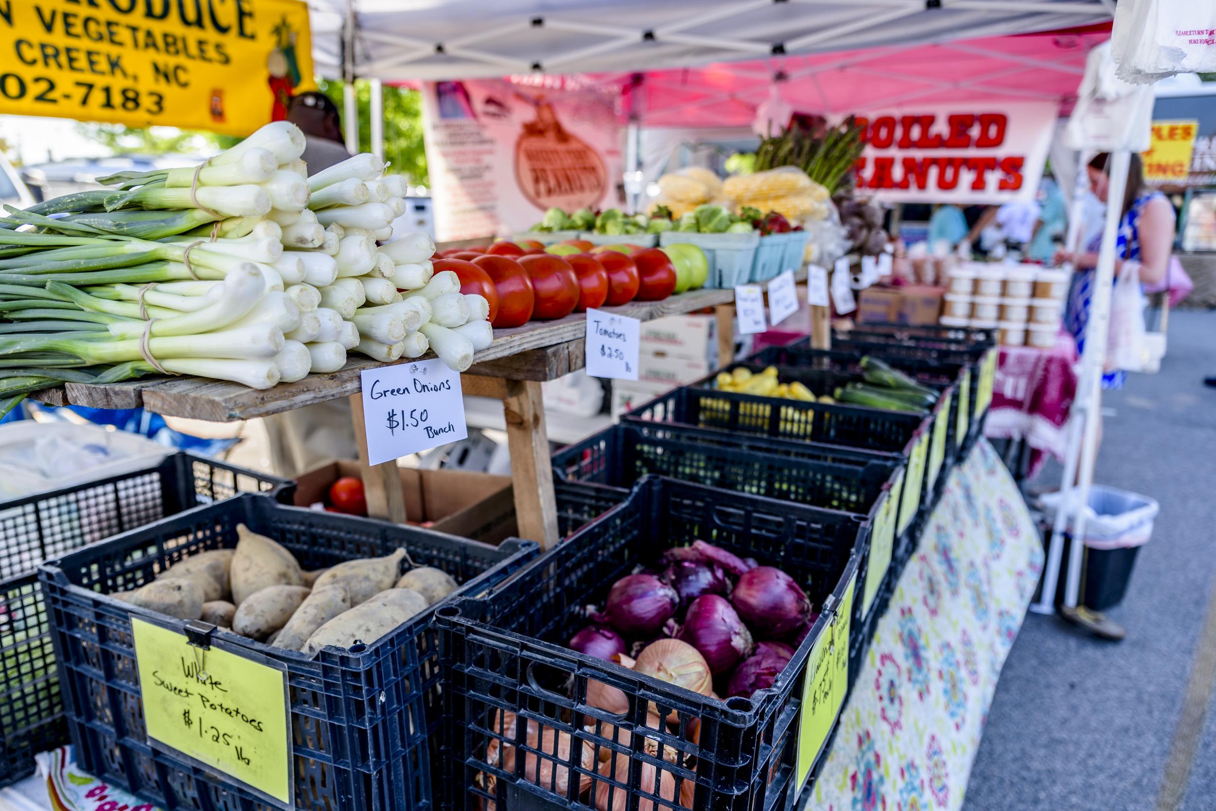 Uptown Greenville Umbrella Market @ Five Points Plaza