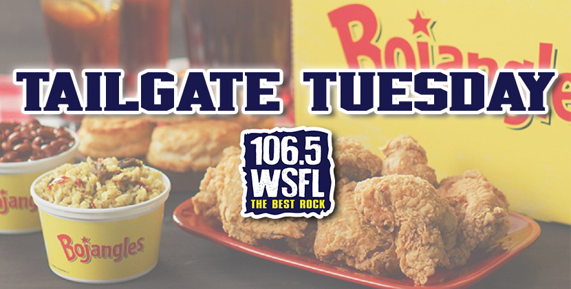 Win a Bojangles' Tailgate Special on Tailgate Tuesday!