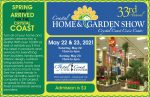 Coastal Home & Garden Show @ Crystal Coast Civic Center