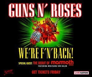 Guns N' Roses@ PNC Arena, Raleigh